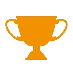 Trophy win competition game vector