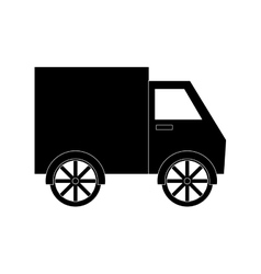 truck vehicle icon vector image