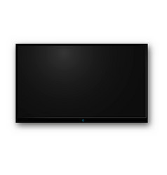 tv modern blank screen vector image