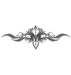 calligraphy calligraphic vector image vector image