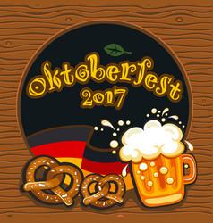 oktoberfest celebration banner series vector image
