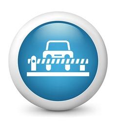 Carpark Glossy Icon vector image vector image