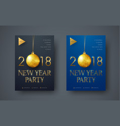 design of a modern minimalist flyer for the new vector image vector image