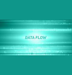Abstract big data visualization vector
