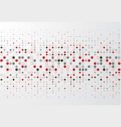 Abstract technology background with red and gray vector