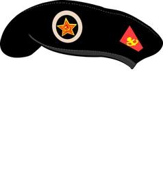 beret vector image