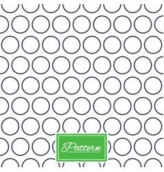 circles stripped geometric seamless pattern vector image