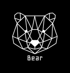 head bear vector image
