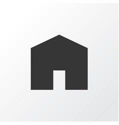 House icon symbol premium quality isolated home vector
