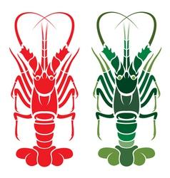 Lobster vector image