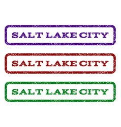 Salt lake city watermark stamp vector