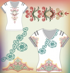 t-shirt design vector image