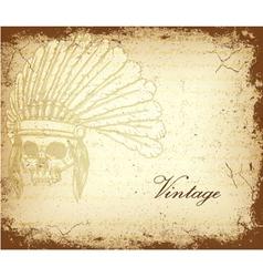 Vintage grunge background vector