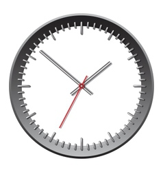 Wall mechanical clock vector