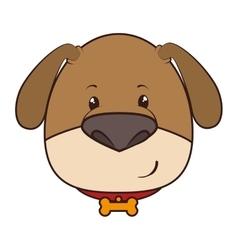 dog animal cartoon vector image