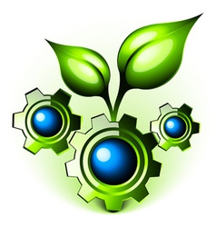 natures engineering vector image vector image