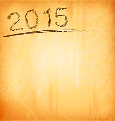 2015 Old Background vector image vector image