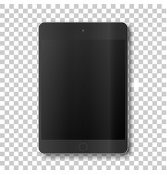 touch tablet on transparent background vector image