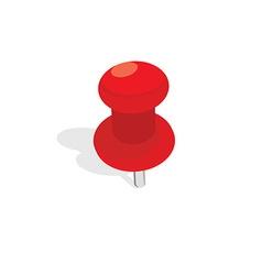 Push pin vector image vector image