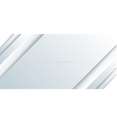 abstract white and gray paper shine and layer vector image