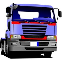 al 0549 truck vector image