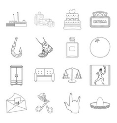 furniture sports medicine and other web icon in vector image