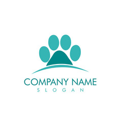 paws design vector image