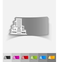 Realistic design element hotel vector