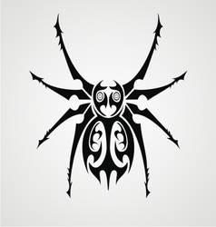 Tribal Spiders vector