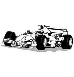 Formula One vector image