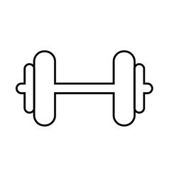 Weight metal heavy bodybuilding icon vector