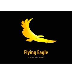 eagle design template bird or animal icon vector image