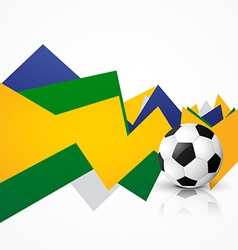 Brasil soocer game vector