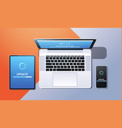 internet connection software installation new vector image