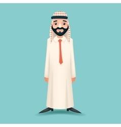 Realistic Businessman Sale Presentation Cartoon vector image
