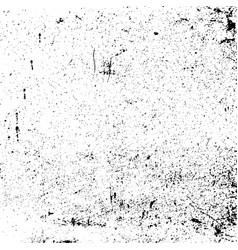 transparent grunge texture black blots noise vector image