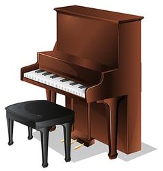 A piano vector image