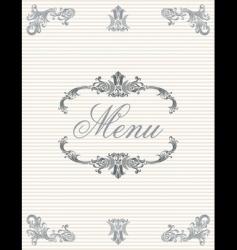 menu3 vector image