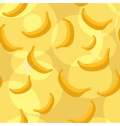 bananas background vector image