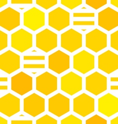 honeycombs pattern vector image vector image