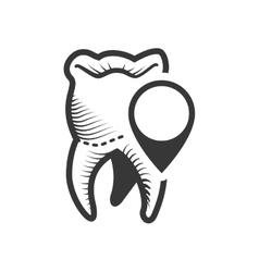 Teeth dental care design vector