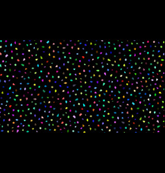 abstract background of small pieces vector image