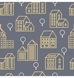 City Line seamless vector