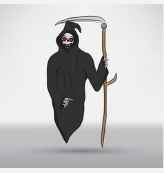 death with scytheman vector image