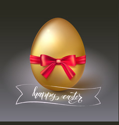 happy easter greeting spring holiday template vector image