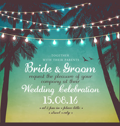 Inspiration card for wedding or a party vector