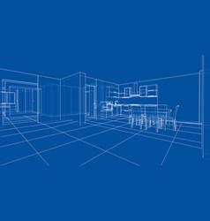 Interior sketch vector