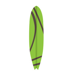isolated surfboard image vector image