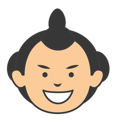 Man japanese avatar character vector