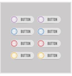 Menu icon vector